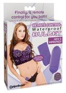 Remote Control Bullet Waterproof 3.25 Inch Purple